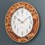 優美な象嵌で魅了する、デコール セイコーの掛時計