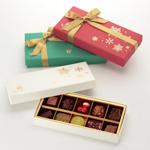 クリスマス限定チョコレート <br />「ショコラ・フレ ノエル」<br />(10個)