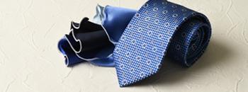 ネクタイ&ポケットチーフ コレクション